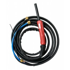 Горелка TIG 25 250A (100%) M12x1 газ 1/4G вода 3/8G с упр. разъёмами 2-3-5pin 8м Aurora