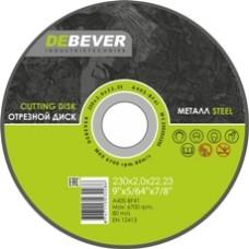 Диск отрезной по металлу Debever 150х3.0х22 A40S-BF41