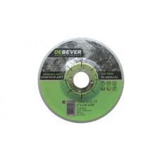 Диск зачистной по нержавейки Debever 125х6.0х22 A24R-BF27
