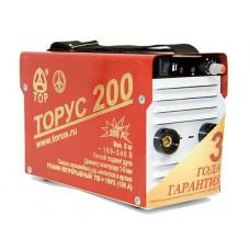 Сварочный аппарат (инвертор) ТОРУС 200 КЛАССИК+провода