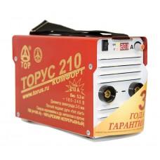 Сварочный аппарат (инвертор) ТОРУС 210 КОМФОРТ (НАКС)