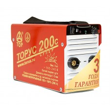 Сварочный аппарат (инвертор) ТОРУС 200с СУПЕР+провода
